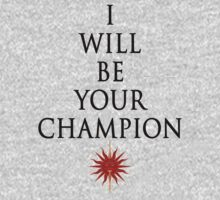 I will be your champion - Oberyn Martell by Viapuebal