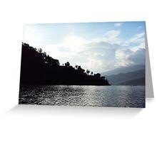 river higest landscape Greeting Card