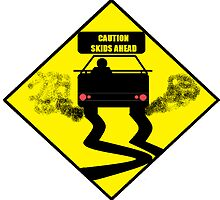 CAUTION SKIDS AHEAD by SeedyRom