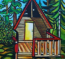 little cabin by alisagrossutti