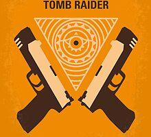 No209 My Lara Croft Tomb Raider minimal movie poster by Chungkong