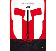 No001 My 300 minimal movie poster Photographic Print