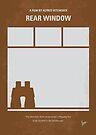 No238 My Rear window minimal movie poster by Chungkong