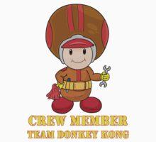 Team Donkey Kong crew member T-Shirt