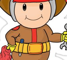 Team Donkey Kong crew member Sticker