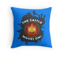 The Castle moves on! (Pillows & Totes Edition) Throw Pillow
