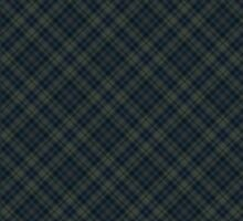 Teal Plaid Pattern by bexilla