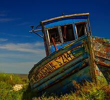 Carrasqueira Boat by Christopher Cosgrove