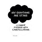 My Thoughts Are Stars I Cannot Fathom Into Constellations Parody by Beth McConnell