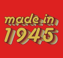 Made in 1945 (Yellow&Red) by ipiapacs