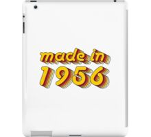Made in 1956 (Yellow&Red) iPad Case/Skin