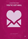 No107 My Youve Got Mail minimal movie poster by Chungkong