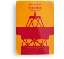 No081 My Star Trek - 1 minimal movie poster Metal Print