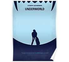No122 My UNDERWORLD minimal movie Poster