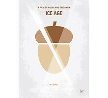 No041 My Ice Age minimal movie poster Photographic Print