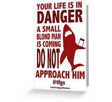 Rin    Danger Greeting Card