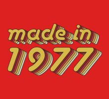 Made in 1977 (Yellow&Red) by ipiapacs