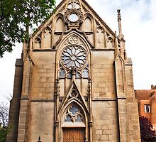 Loretto Chapel in Spring by Robert Meyers-Lussier