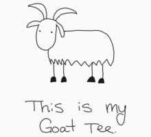 Goat Tee by CrystalJoy123