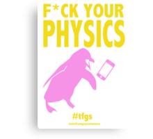 Nagisa || Physics (censored) Canvas Print