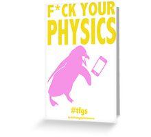 Nagisa || Physics (censored) Greeting Card