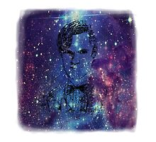 Matt Smith Galaxy Pillow/Tote by EmmaPopkin