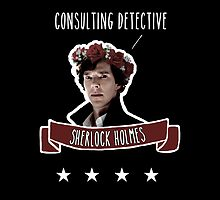 Consulting detective Sherlock Holmes by cartoonmotioned