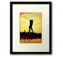Nikki Heat Framed Print