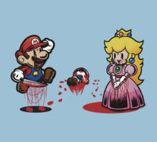 evil paper mario by HeartlessArts