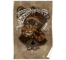 Clockwork Wonderland - Cheshire Cat Poster