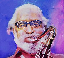 Sonny Rollins by wetmixer