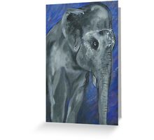 Painted Elephant - Matriarch Greeting Card