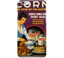 Corn, the Food of a Nation iPhone Case/Skin