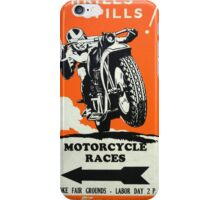 Motorcycle Races iPhone Case/Skin