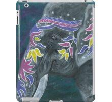 Painted elephant - Profile iPad Case/Skin
