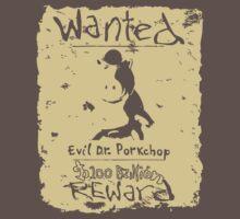 Wanted - Evil Dr. Porkchop Kids Clothes