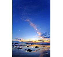 Blue Sunset on Cable Beach Photographic Print
