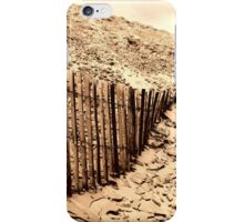 Fence - Dune of Pilat iPhone Case/Skin