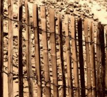 Fence - Dune of Pilat Sticker
