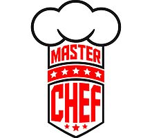 Cool Master Star Chef Design Logo by Style-O-Mat