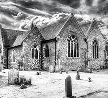 Orsett Church Essex England by DavidHornchurch