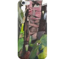 Lud's Church, Staffordshire - watercolours iPhone Case/Skin