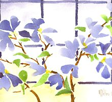 Dogwood in the Window by KipDeVore