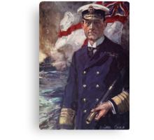 Admiral Sir John Jellicoe Canvas Print