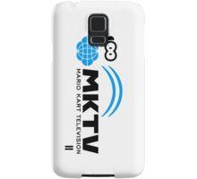 Mario Kart TV (Black) Samsung Galaxy Case/Skin