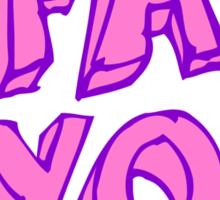 2 FAB 4 YOU Sticker