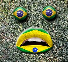 Football support on world cup 2014 by idimages