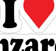 I Heart Love Lanzarote Sticker