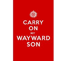 Carry on (My wayward son) Photographic Print