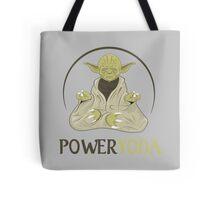 Power Yoda Tote Bag